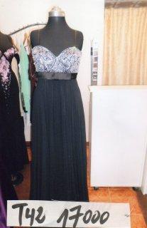 Un robe de soirée