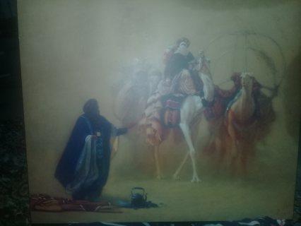 لوحة من وحي الصحراء من 2002