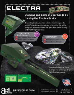 Diamond and Gemstones detector - Electra Ajax