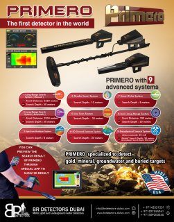 best gold detector Primero Ajax - Newest metal detector