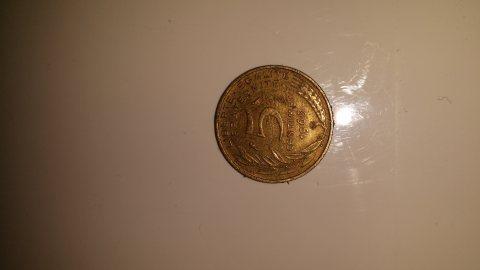 5 centime 1966