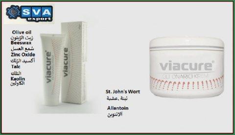 مستحضرات طبيعية للعناية بالبشرة Viacure