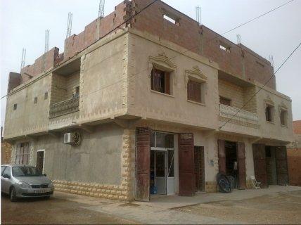 سكن للبيع بطابقين مجهز  ولاية تيارت دائرة سوقر
