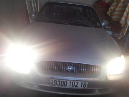 سيارة هونداي سوناتا للبيع لون رمادي