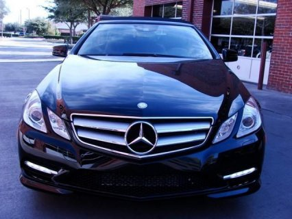 used as new 2013 E550 Benz