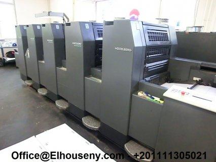 ماكينة HEIDELBERG SM 52-5-P2 مستعملة5