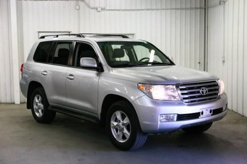 the car is a 2011 Toyota Land Cruiser.