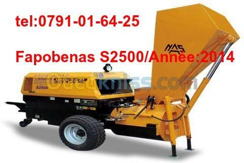 Fapobenas S2500  2014