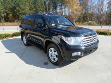 2012 Toyota Land Cruiser For Sale With Negotiation