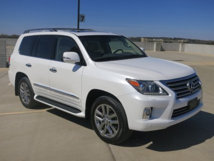 For sale Used: 2013 Lexus LX 570 V8 4WD 4dr SUV Jeep Full Option