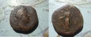 قطعة نقدية رومانية ترجع الى 300 قبل الميلاد