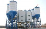 محطة خلط الخرسانة HZS120,مصنع خلط الخرسانة 120 م3/ساعة