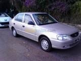 سيارة أكسنت GLS للبيع رملية اللون المسافة المقطوعةk/m145000 مجهز